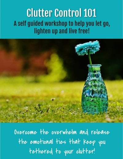 Clutter Control 101 Self Guided Workshop
