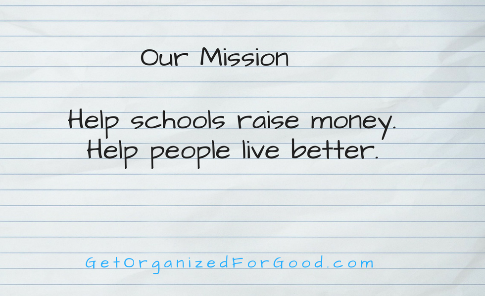 Get Organized For Good Fundraising